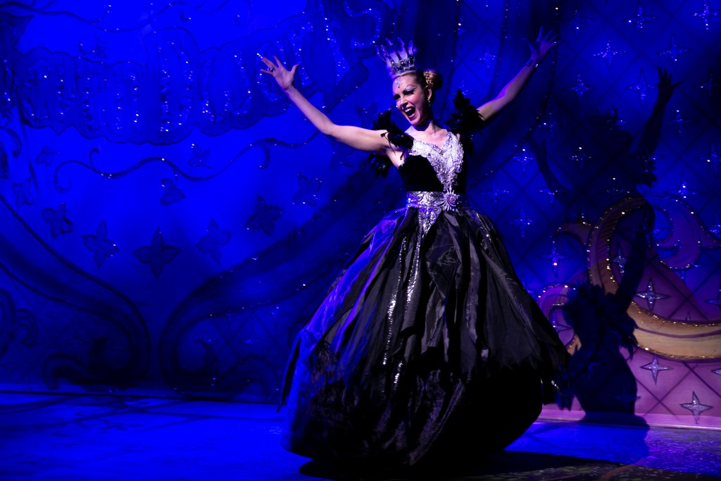 Sophie Ladds as the Wicked Queen in Snow White, Basildon