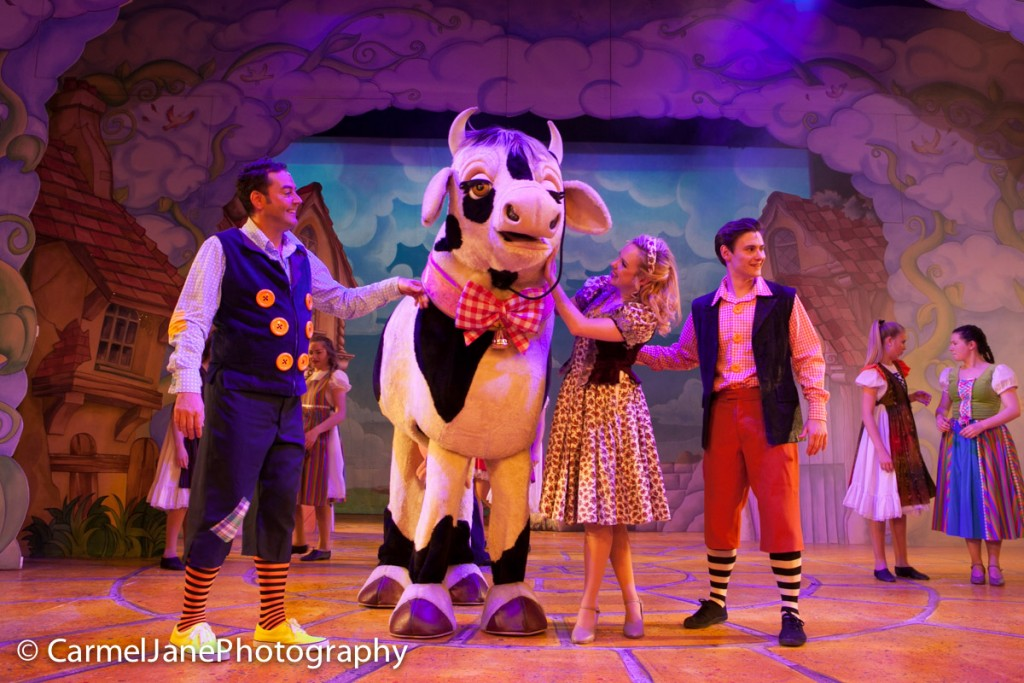 Catherine Hayworth as Princess Jill in the Towngate Theatre, Basildon's Jack and the Beanstalk